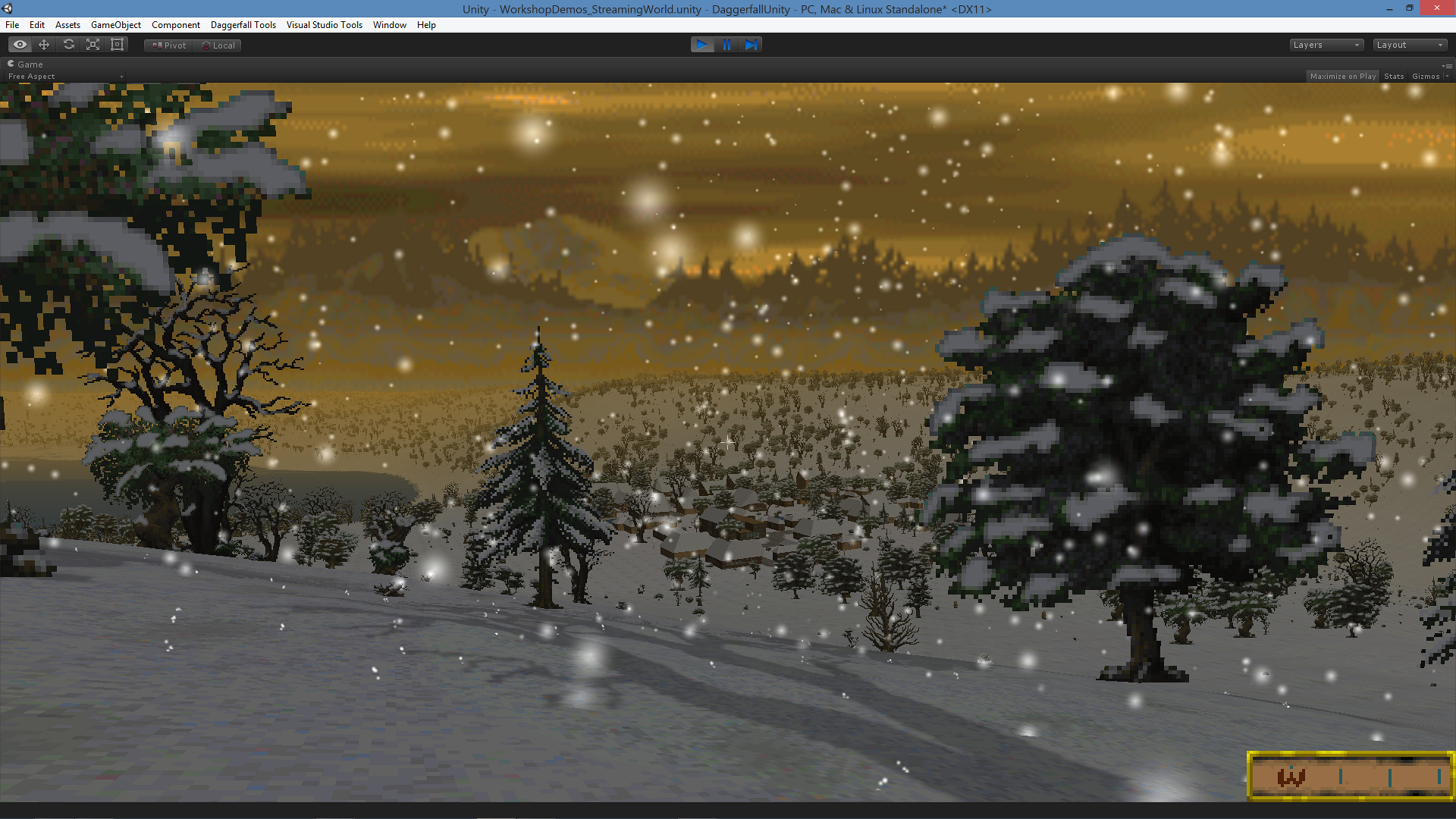 how to change skybox unity