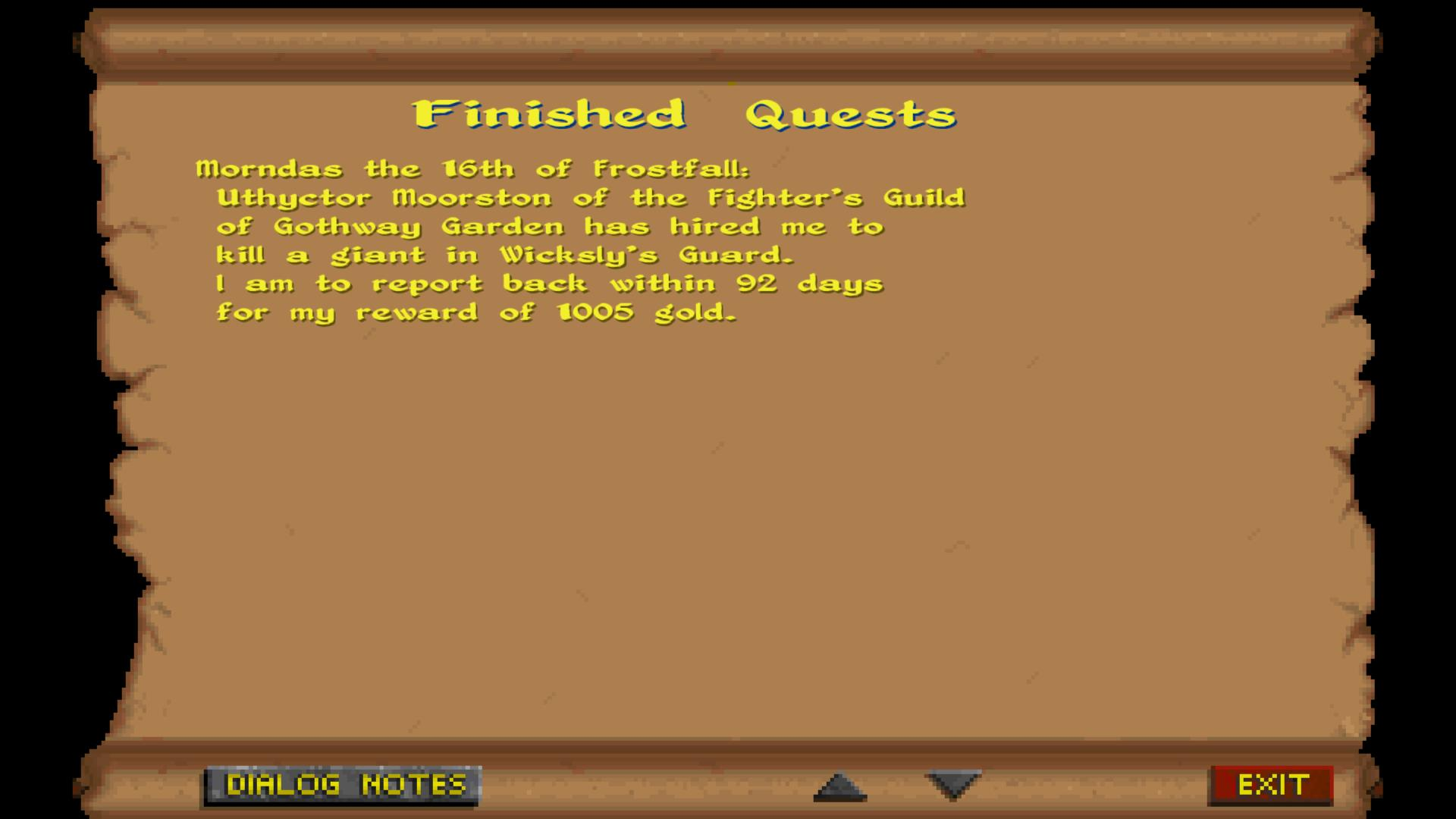 Notebook, Enemy Spellcasting, And Bug Fixes – Daggerfall Workshop