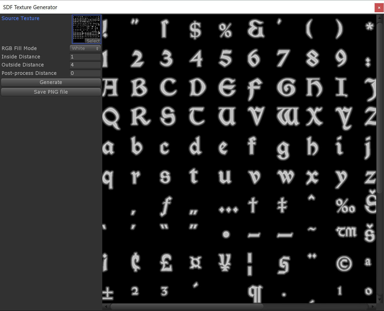 Creating SDF Fonts For Daggerfall Unity – Daggerfall Workshop