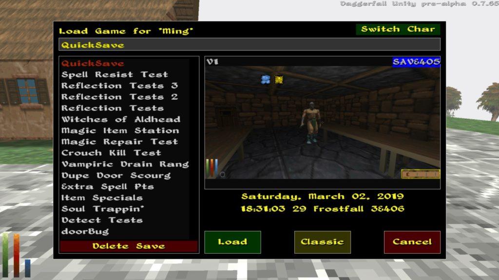 Daggerfall Unity – Daggerfall Workshop